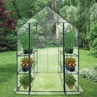 Ogrow Walk-in 4-Tier 12-Shelf Port Greenhouse