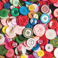 Color Splash!® Craft Buttons, 1 lb Bag