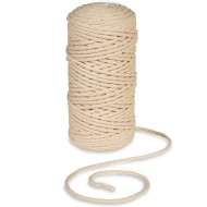 Cotton Macrame & Craft Cord, 4mm x 400'