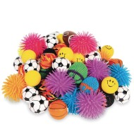 Novelty Ball Assortment Value Pack (Pack of 72)