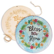 Bless This Home Plaques (Pack of 12)