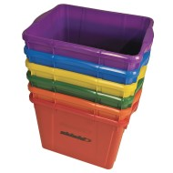 Deluxe Rainbow Storage Bin Set (Set of 6)