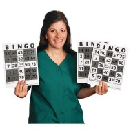 S&S® Bingo Game Example Cards (Pack of 25)