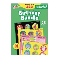 Scratch & Sniff Stickers Birthday Bundle Value Pack