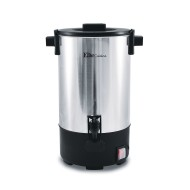 Elite Cuisine Stainless Steel Coffee Urn Coffee Maker, 30 Cup