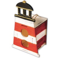 Lighthouse Birdhouse Craft Kit (Pack of 12)
