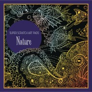 Super Scratch Art Pad - Nature
