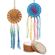 Round Wood String Art Form (Pack of 24)