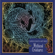 Super Scratch Art Pad - Mythical Creatures