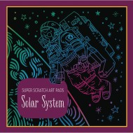 Super Scratch Art Pad - Solar System