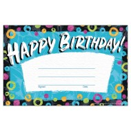 Color Harmony™ Birthday Recognition Award (Pack of 30)