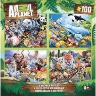 MasterPieces® Animal Planet 4-Puzzle Multipack