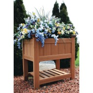 New England Arbors Bloomsbury Planter
