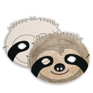 Sloth Half Mask (Pack of 24)