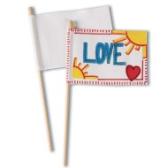 Color-Me™ Mini Flags (Pack of 48)