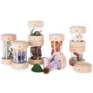 Guidecraft® Treasure Tubes Fillable Stacking Tubes Set