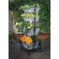 Mobile Double Wall Planter