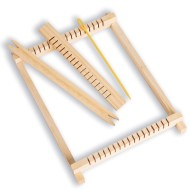 Wood Weaving Frame & Accessories