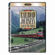 Railroad Journeys Around the World 3 DVD Set