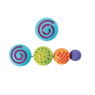 OombeeBall Textured Nesting Ball Set