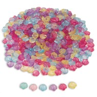 Seashell Bead Assortment, 1 lb