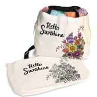 Velvet Art Sunshine Tote Bag (Pack of 12)