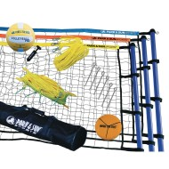 Tri-Ball™ Sport 3-Way Outdoor Volleyball Set