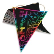 Scratch Artist® Pennant Flags  (Pack of 100)