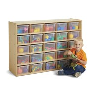 Jonti-Craft® Young Time™ 25-Cubbie Storage Unit