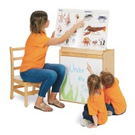 Jonti-Craft® Young Time™ Big Book Easel