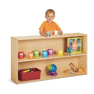 Jonti-Craft® Young Time™ Straight Storage Shelf