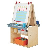 Jonti-Craft® Young Time™ Two Station Art Center