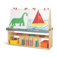 Jonti-Craft® Young Time™ Four Station Art Center