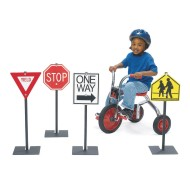 Traffic Signs for Playground Bikes & Trikes Direction