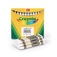 Crayola® White Crayons (Box of 12)