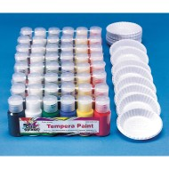 Color Splash!® Liquid Tempera Paint Pass Around Pack (Pack of 48)