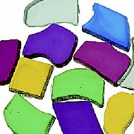 Color Splash!® Plastic Tile Assortment