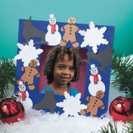 Winter Wonderland Frame Craft Kit (Pack of 24)