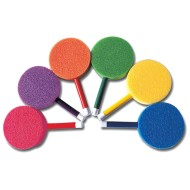 Spectrum™ Foam Lollipop Paddles (Set of 6)