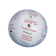 Toss 'n Talk-About® Ball, Music