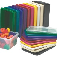 Plastic Lid for Cubbie Storage Tote Tray