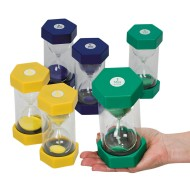 Plastic Sand Timer, Small (Set of 6)