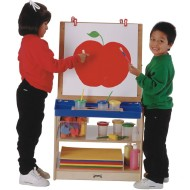2-Station Art Easel