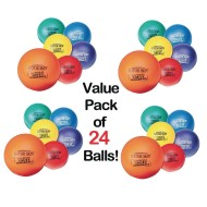 "Gator Skin® Official Adult Dodgeballs, 8.3"" (Case of 24)"