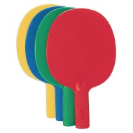 Plastic Table Tennis Paddles (Set of 4)