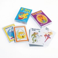 Classic Favorites: Go Fish & Old Maid Playing Cards (Pack of 12)
