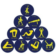 Fitness Spots (Set of 10)
