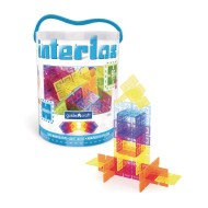 Guidecraft Interlox Square Creative Building Set