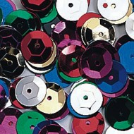8mm Cup Sequins (Pack of 1800)