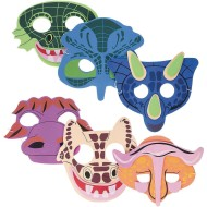 Dinosaur Foam Mask (Set of 12)